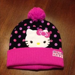 Hello Kitty Accessories - Hello Kitty Winter Hat!